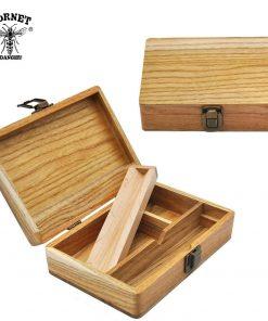 HORNET Wooden Stash Box