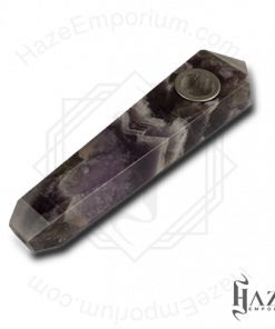 Amethyst Smoking Pipe – 4 inch Crystal Gemstone Hand Pipe