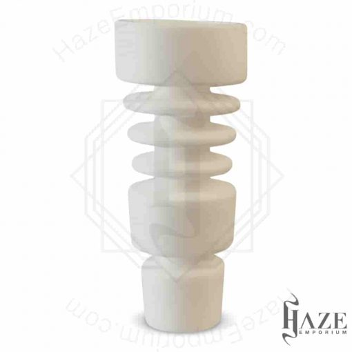 Ceramic Domeless Nail Male fits 14mm to 18.8mm