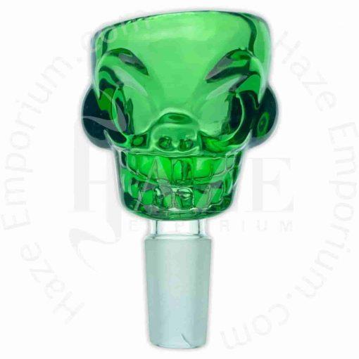 Skull Shaped Glass Bowl – 14mm/ 18mm male